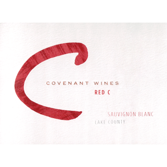 Label shot for  Covenant Red C Sauvignon Blanc Dry Creek