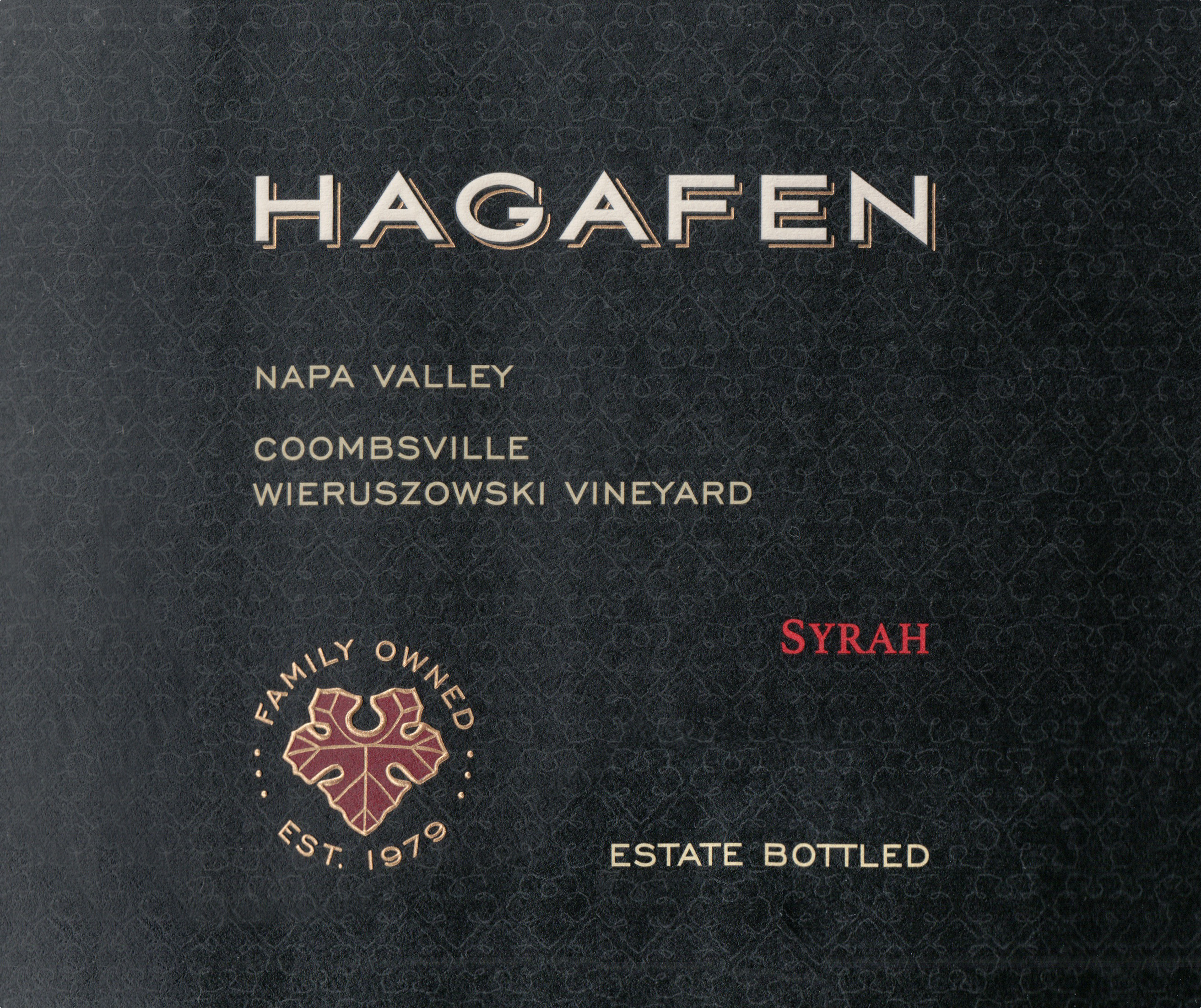Hagafen Syrah (U)