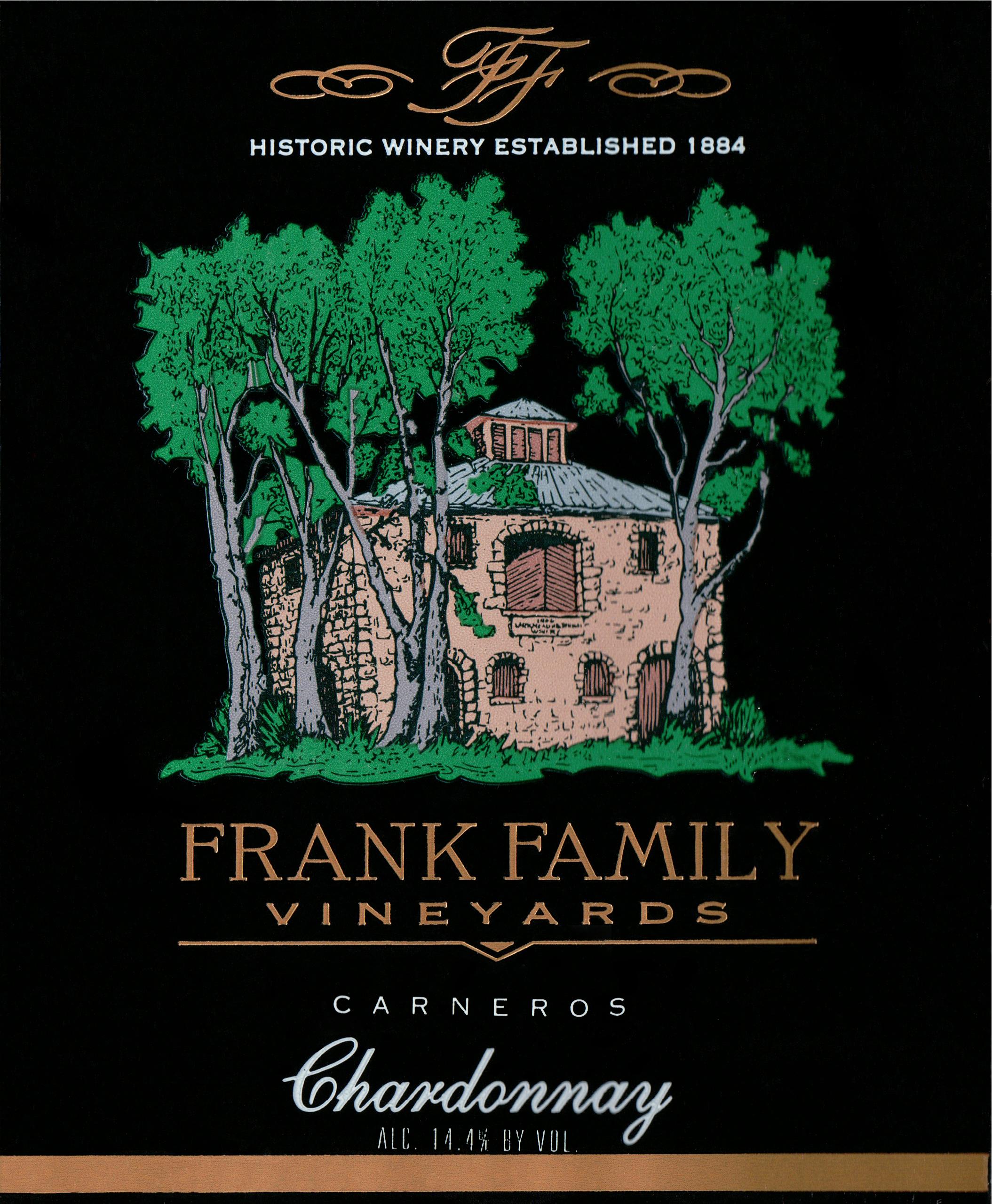 Frank Family Chardonnay 2018