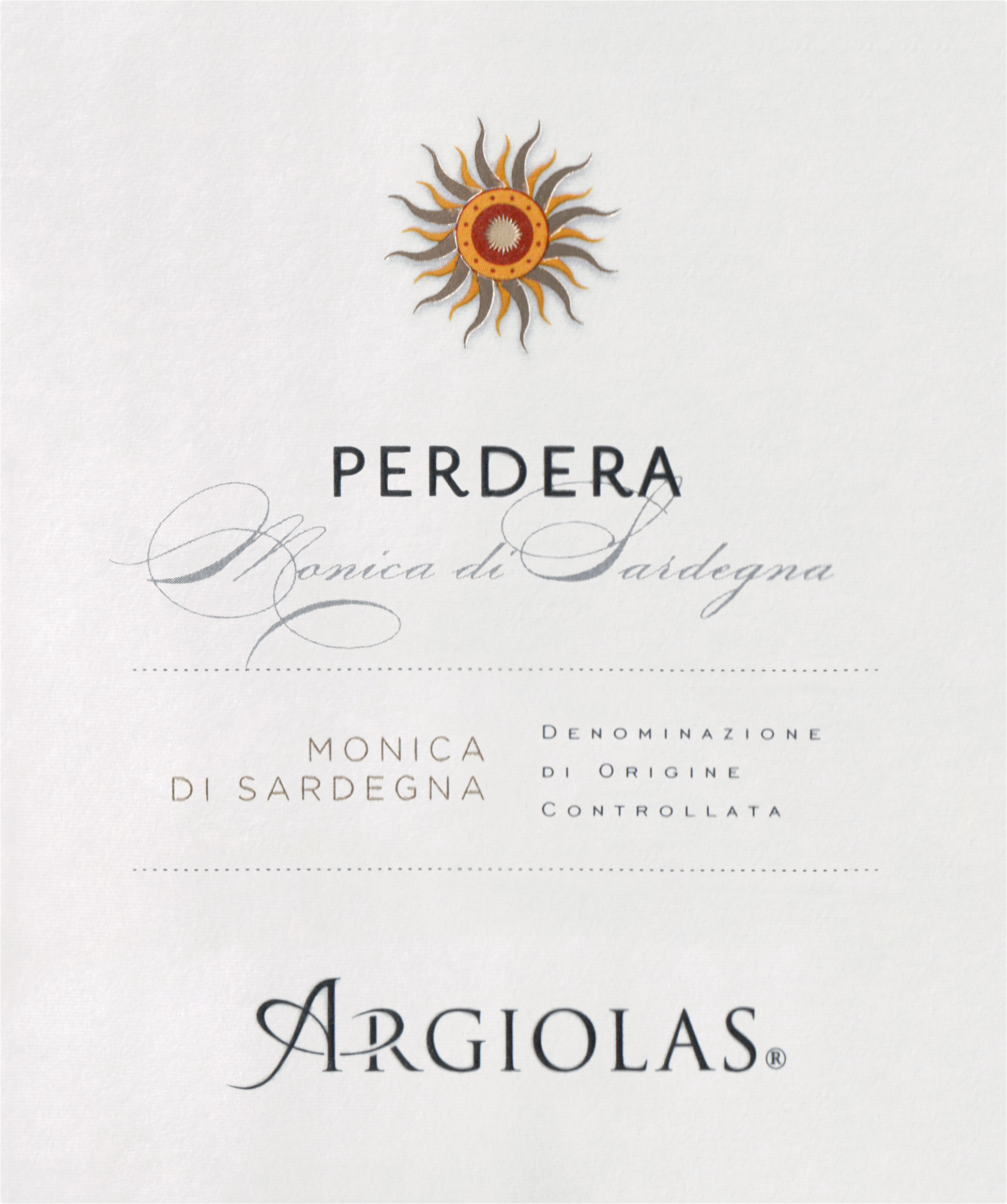 Argiolas Perdera 2017