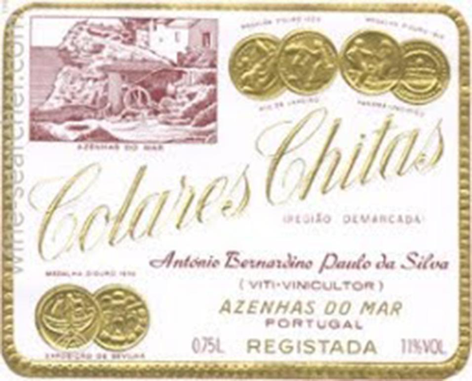 Antonio Bernardino Paulo Da Silva Chitas Reserva Tinto Colares 1996