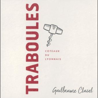 Label shot for 2018 Clusel Roch Coteaux Du Lyonnais Traboules