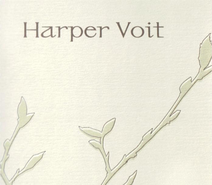 Harper Voit Pinot Noir Bieze Vineyard Eola Amity Hills Willamette Valley 2016