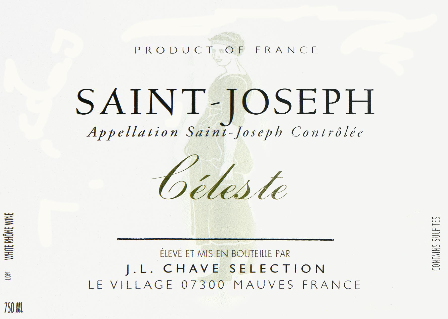 Jean Louis Chave Celeste St. Joseph Blanc 2017