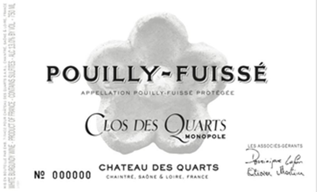 Chateau Quarts Clos Quarts Pouilly Fuisse 2017