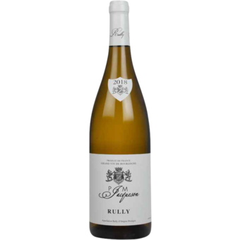 Bottle shot for 2018 Paul Et Marie Jacqueson Rully Blanc