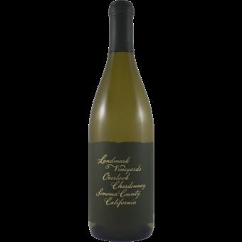Bottle shot for 2018 Landmark Vineyards Overlook Chardonnay