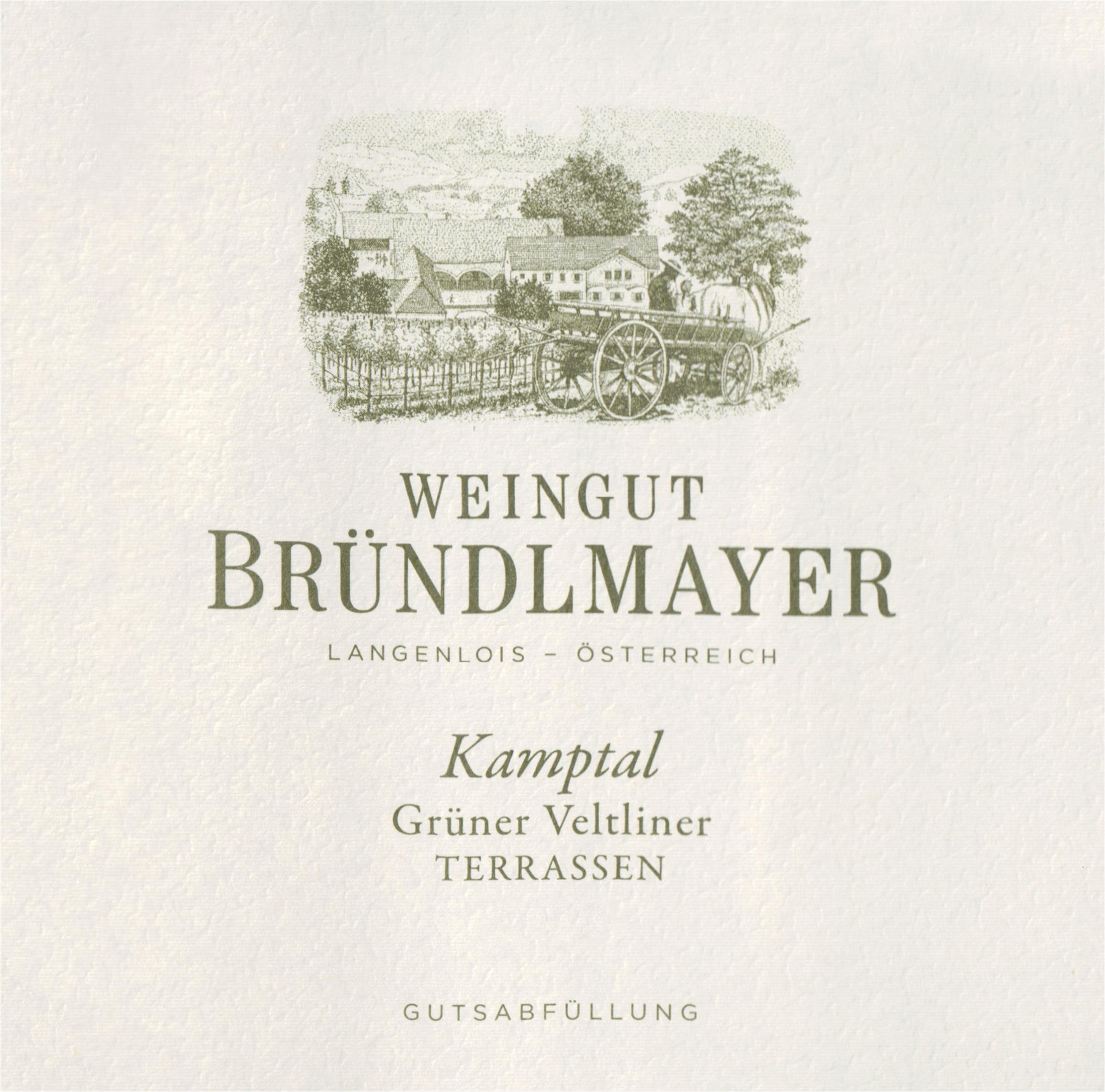 Brundlmayer Gruner Veltliner Kamptaler Terrassen 2019