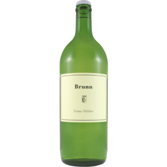 Bottle shot for 2019 Brunn Gruner Veltliner