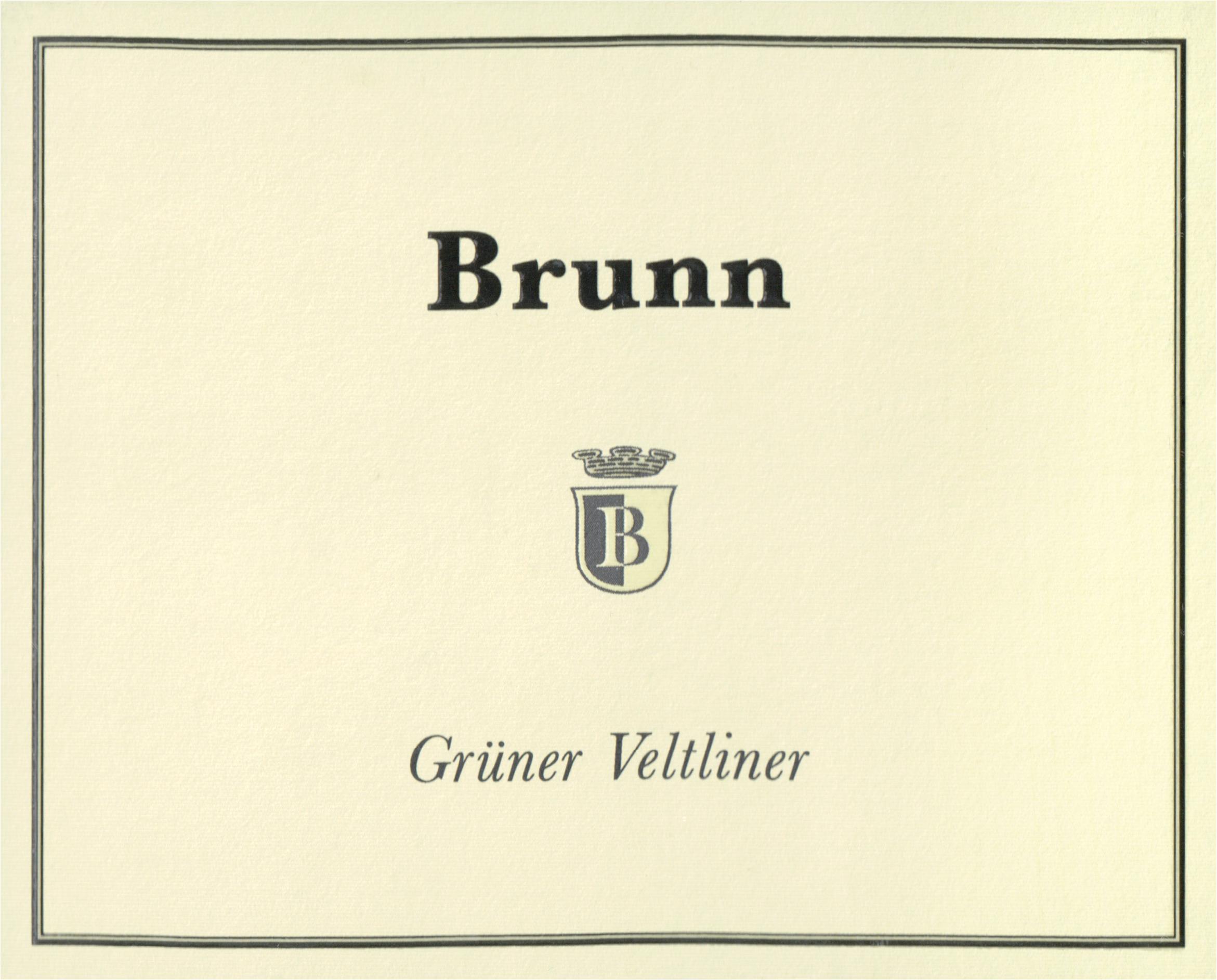 Brunn Gruner Veltliner 2019