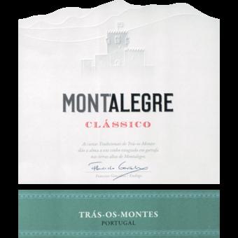 Label shot for 2019 Montalegre Classico Branco