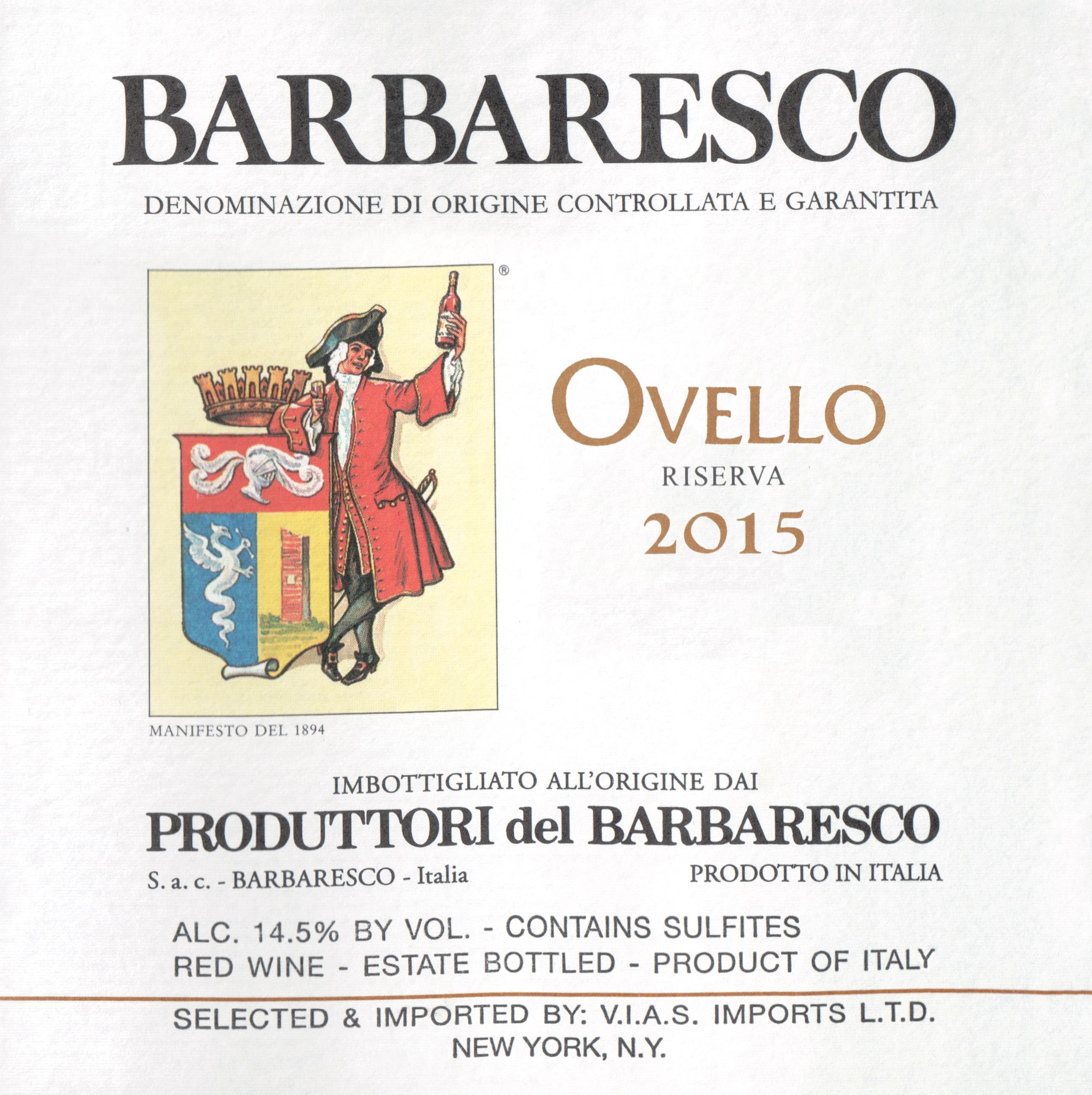 Produttori Del Barbaresco Riserva Ovello Magnum 2015