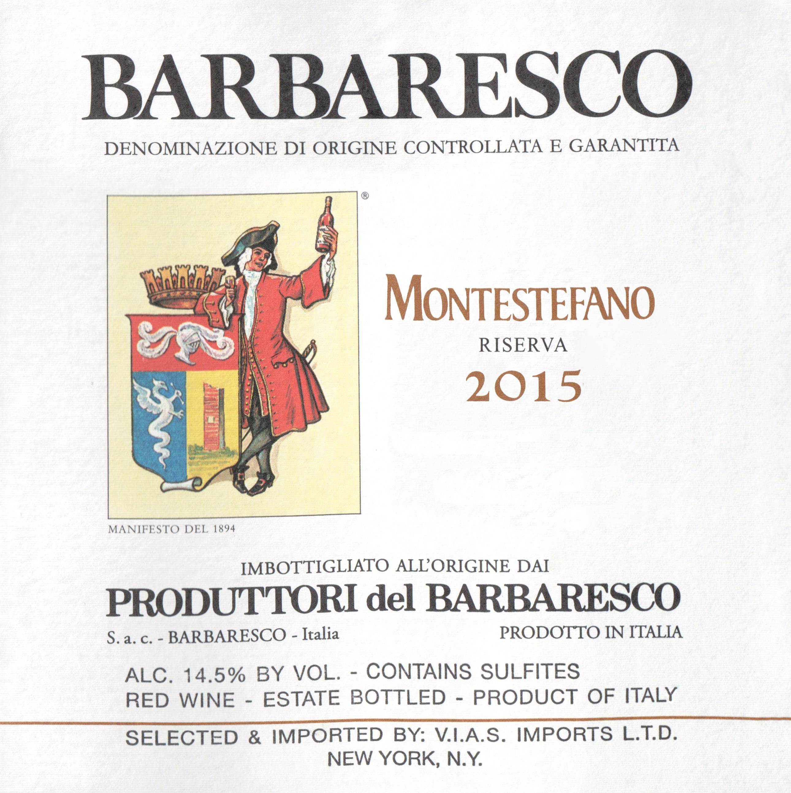Produttori Del Barbaresco Riserva Montestefano Magnum 2015