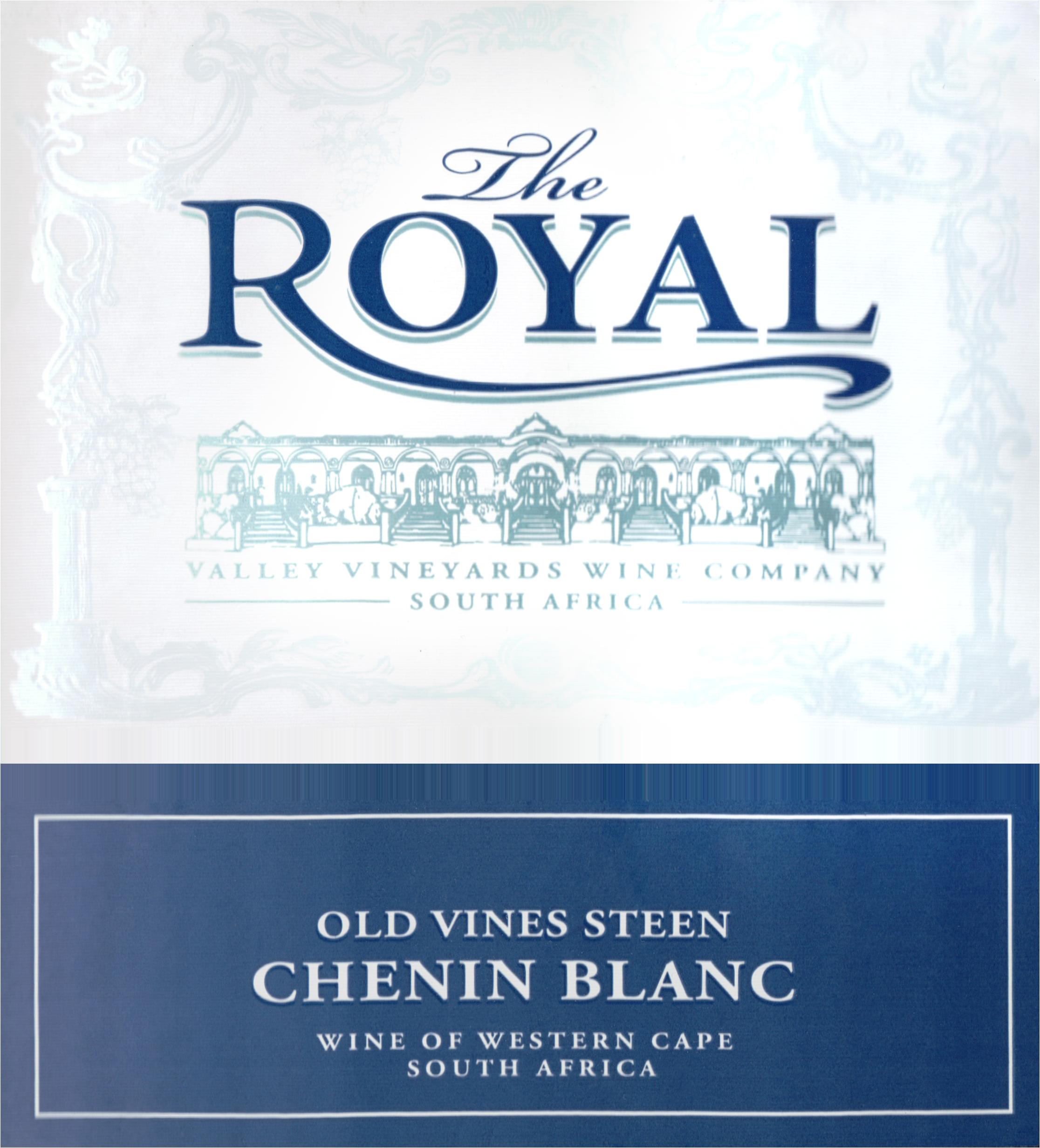 The Royal Old Vine Chenin Blanc 2019