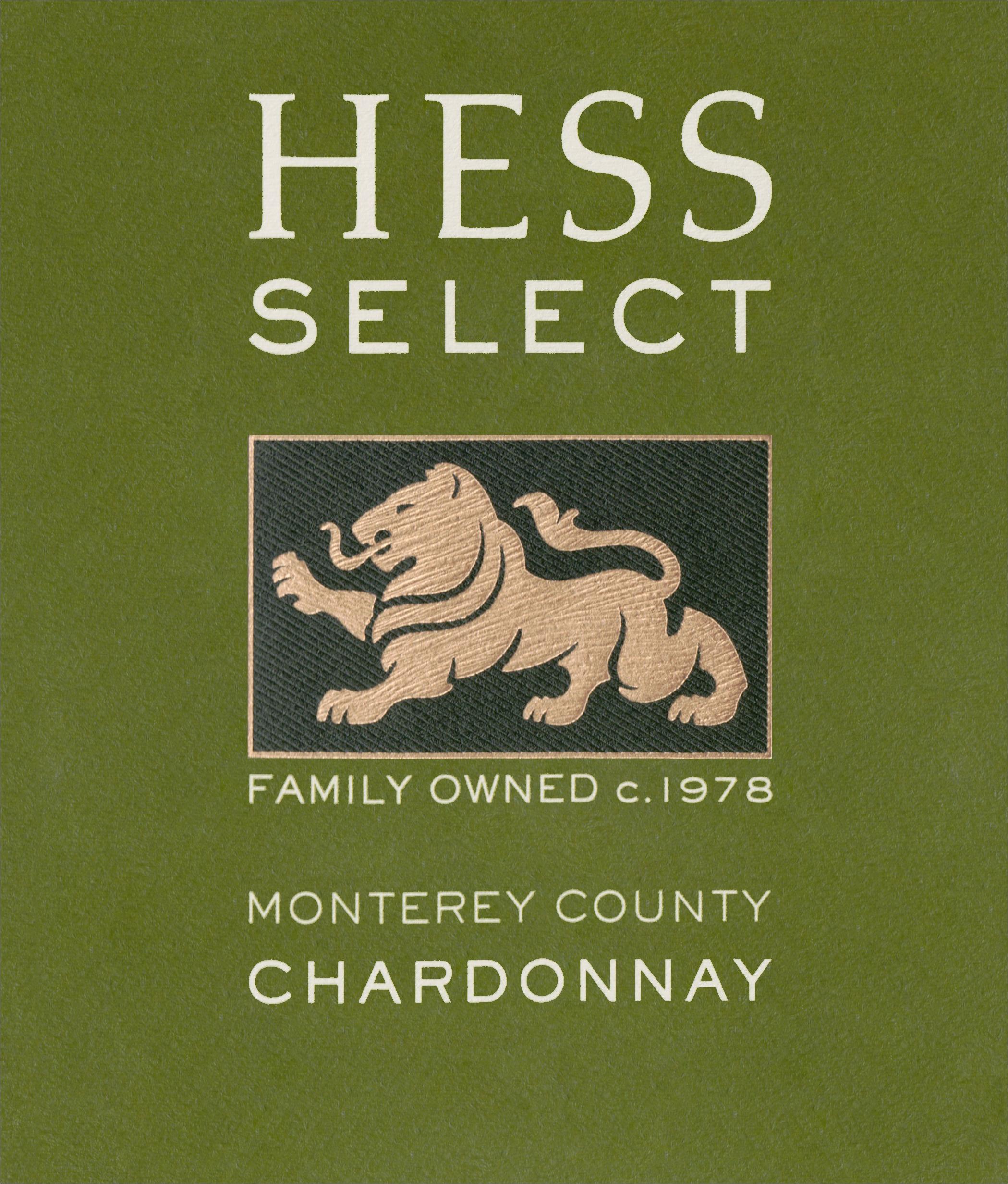 Hess Select Chardonnay 2018