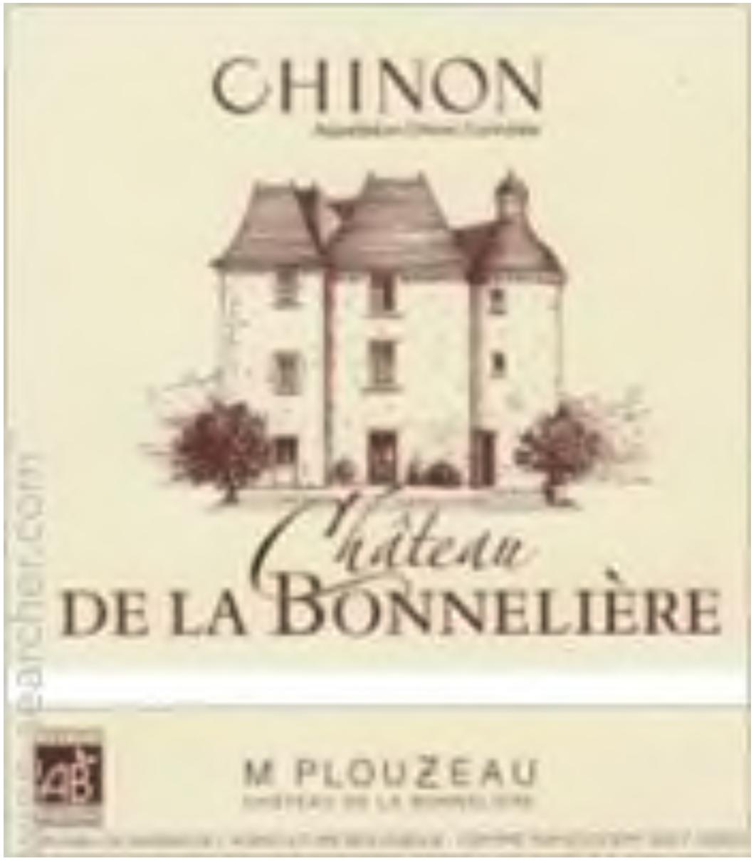 Marc Plouzeau Chateau De La Bonneliere Chinon Les Cornuelles 2017