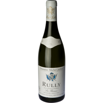 Bottle shot for 2017 Michel Juillot Rully Blanc 'les Thivaux'