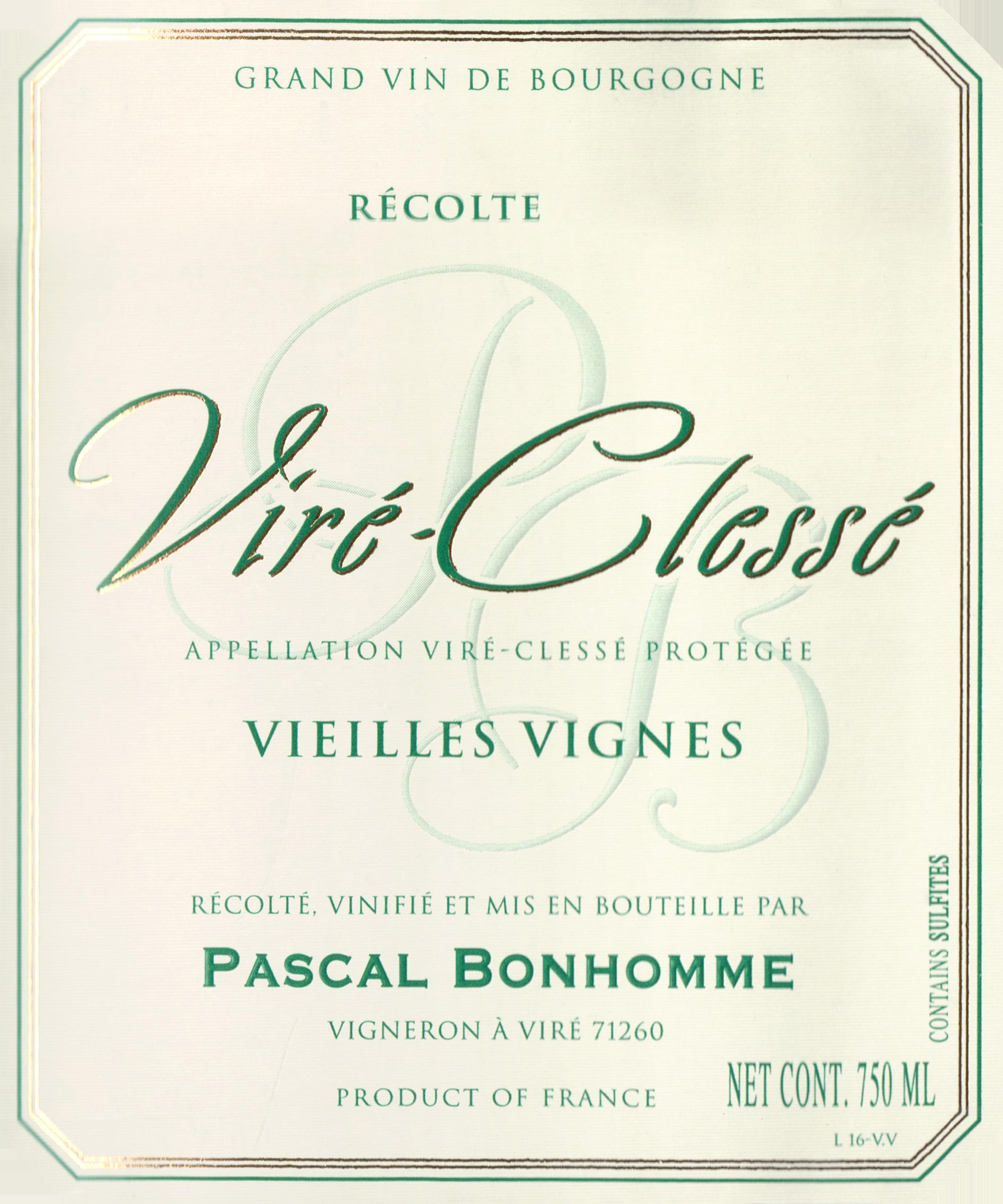 Pascal Bonhomme Vire Clesse 2018