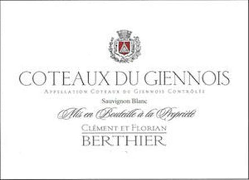 Clement Et Florian Berthier Coteaux Du Giennois Blanc 2018