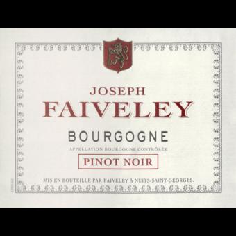 Label shot for 2018 Faiveley Bourgogne Rouge Pinot Noir