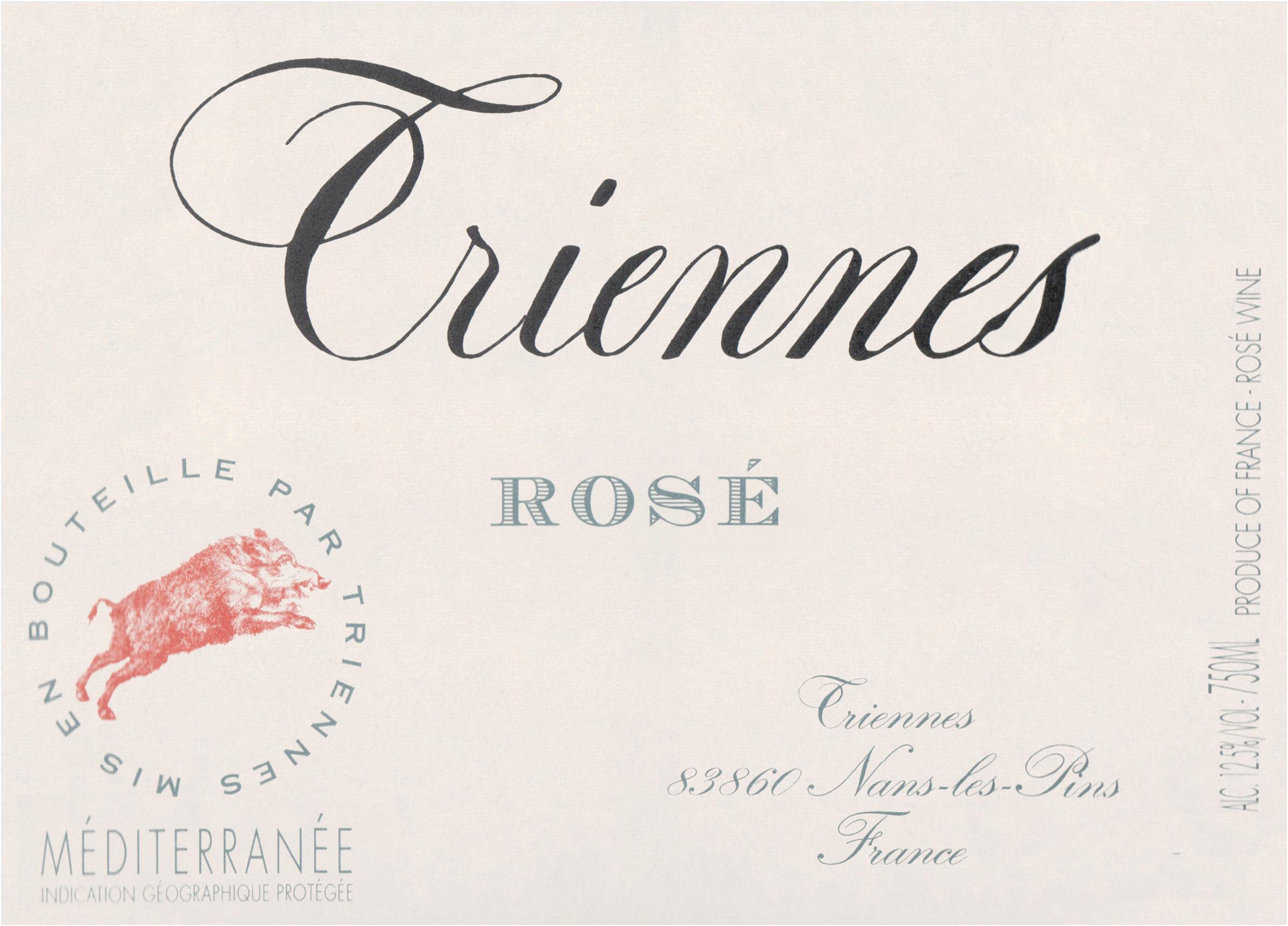Triennes Rose 2019