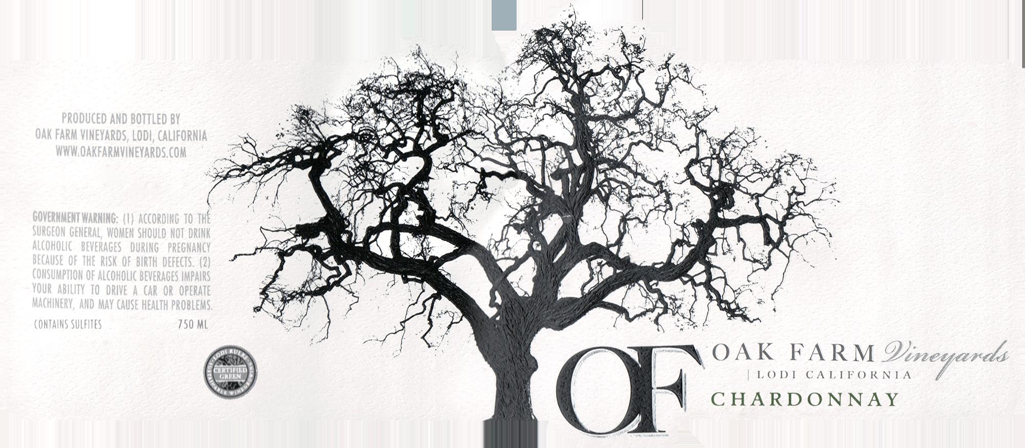Oak Farm Vineyards Chardonnay Lodi 2018
