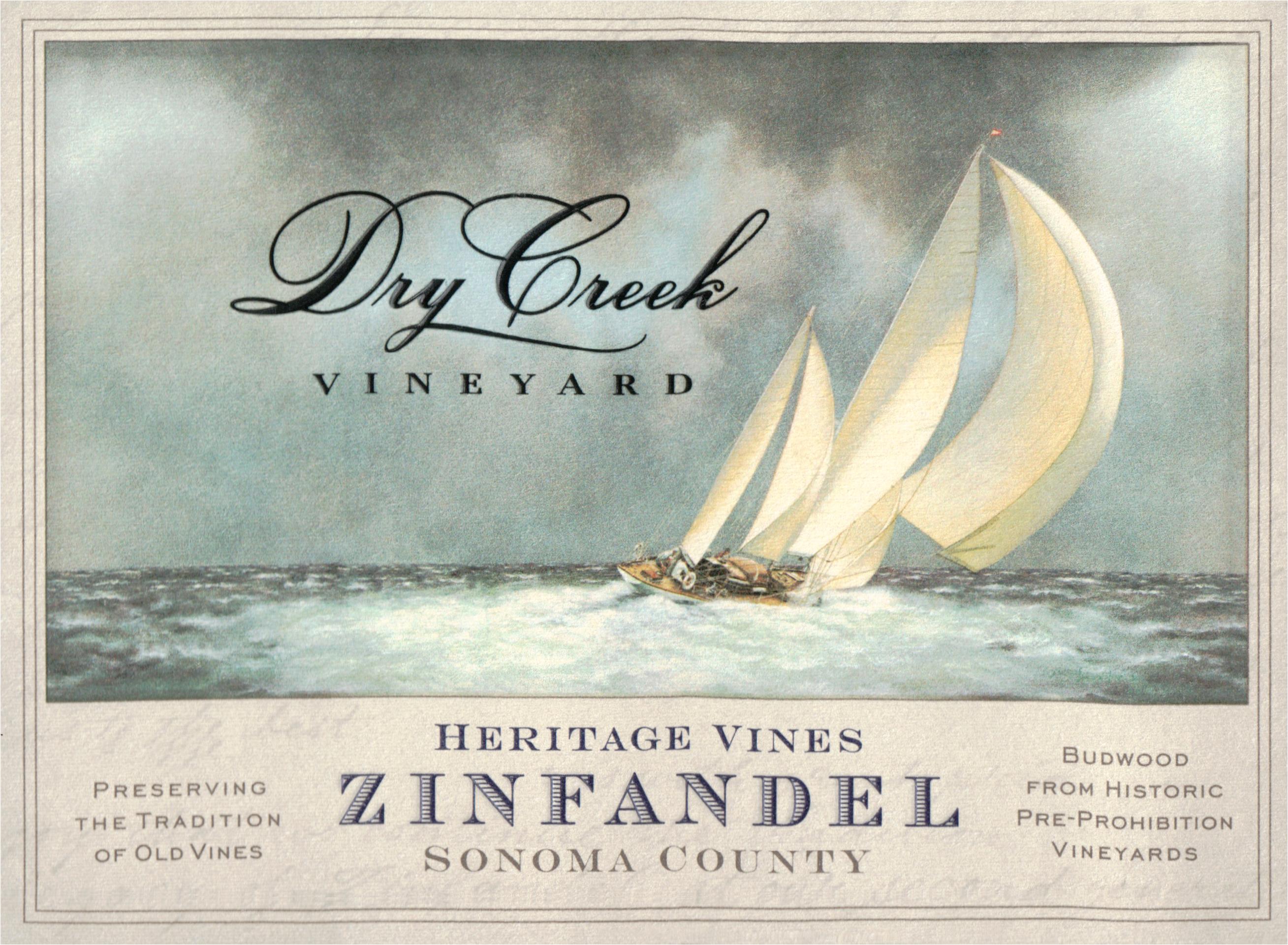Dry Creek Heritage Zinfandel 2018