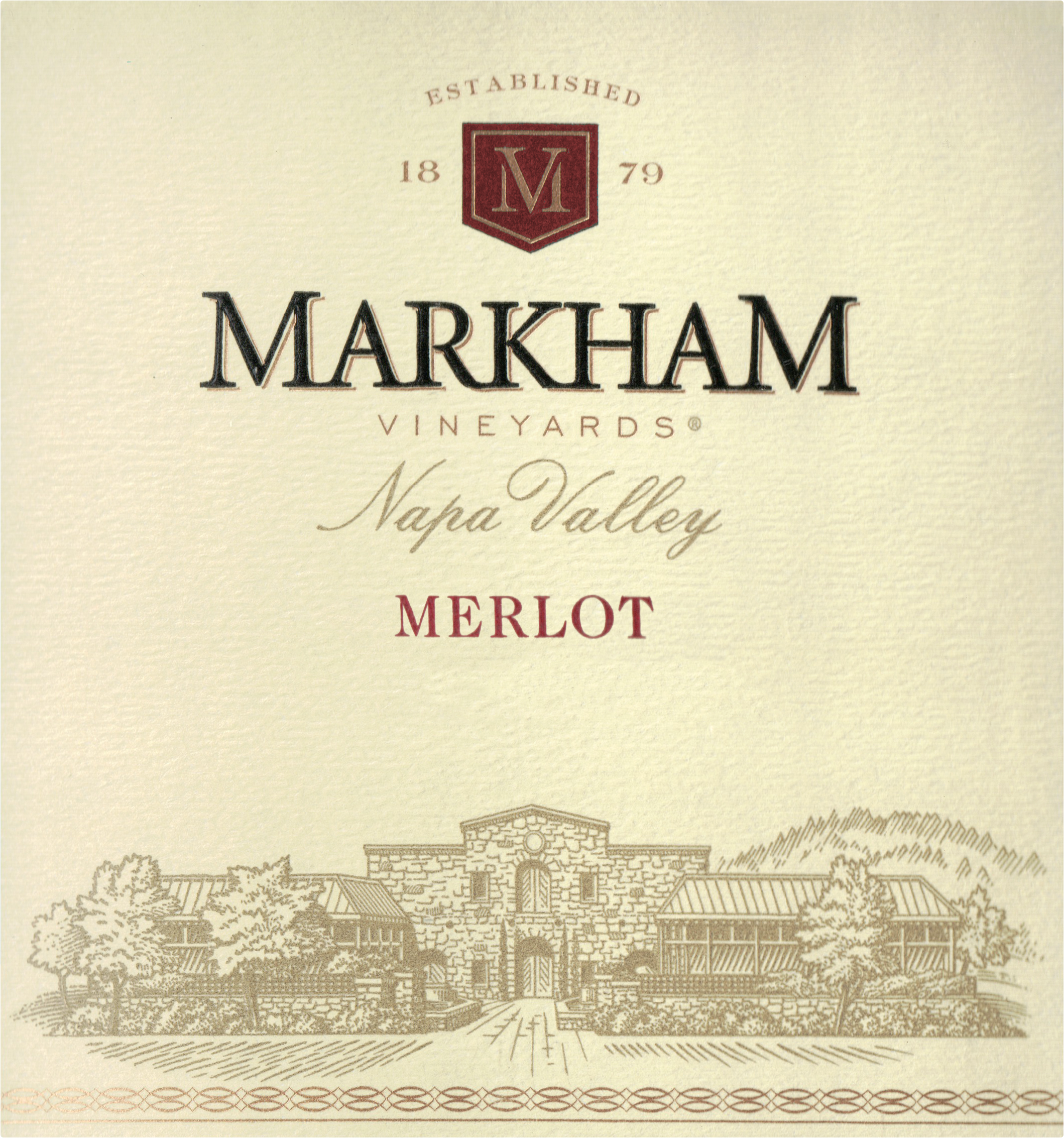 Markham Vineyards Merlot 2017