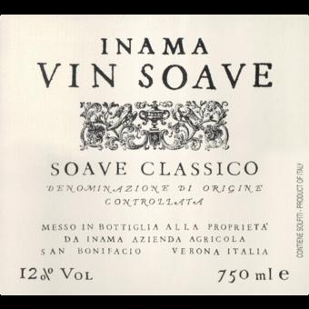 Label shot for 2019 Inama Vin Soave Classico