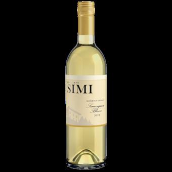 Bottle shot for 2019 Simi Sauvignon Blanc
