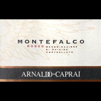 Label shot for 2016 Arnaldo Caprai Montefalco Rosso