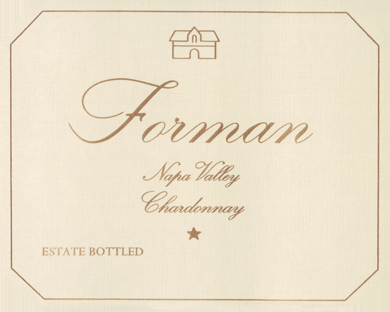 Forman Chardonnay Napa Valley 2017