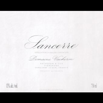 Label shot for 2018 Vacheron Sancerre Blanc 'les Romains'