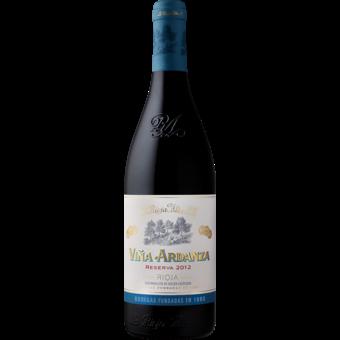 Bottle shot for 2012 La Rioja Alta Vina Ardanza Reserva