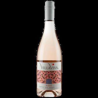 Bottle shot for 2019 Villaviva Rose