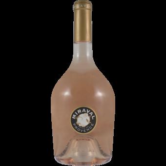 Bottle shot for 2019 Chateau Miraval Rose Cotes De Provence