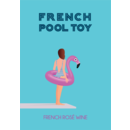 2019 French Pool Toy Rose