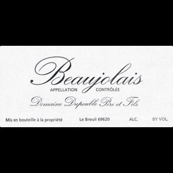 Label shot for 2018 Domaine Dupeuble Beaujolais
