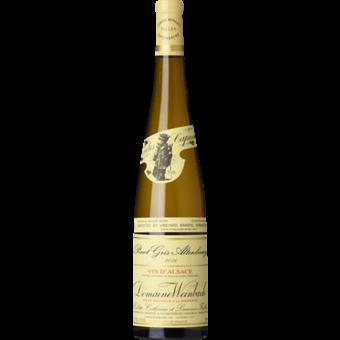 Bottle shot for 2017 Weinbach Pinot Gris Altenbourg