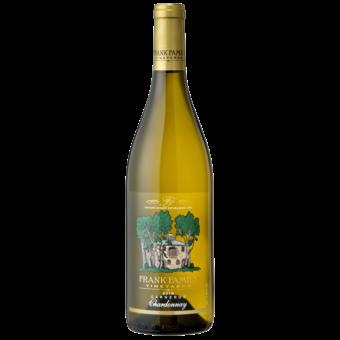 Bottle shot for 2018 Frank Family Vineyards Chardonnay