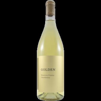 Bottle shot for 2018 Golden Winery Monterey Chardonnay