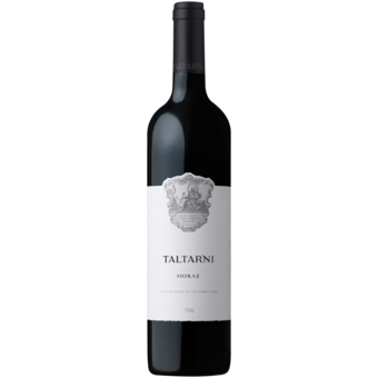 Bottle shot for 2017 Taltarni Shiraz