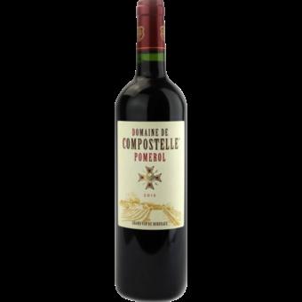 Bottle shot for 2015 Domaine De Compostelle Pomerol
