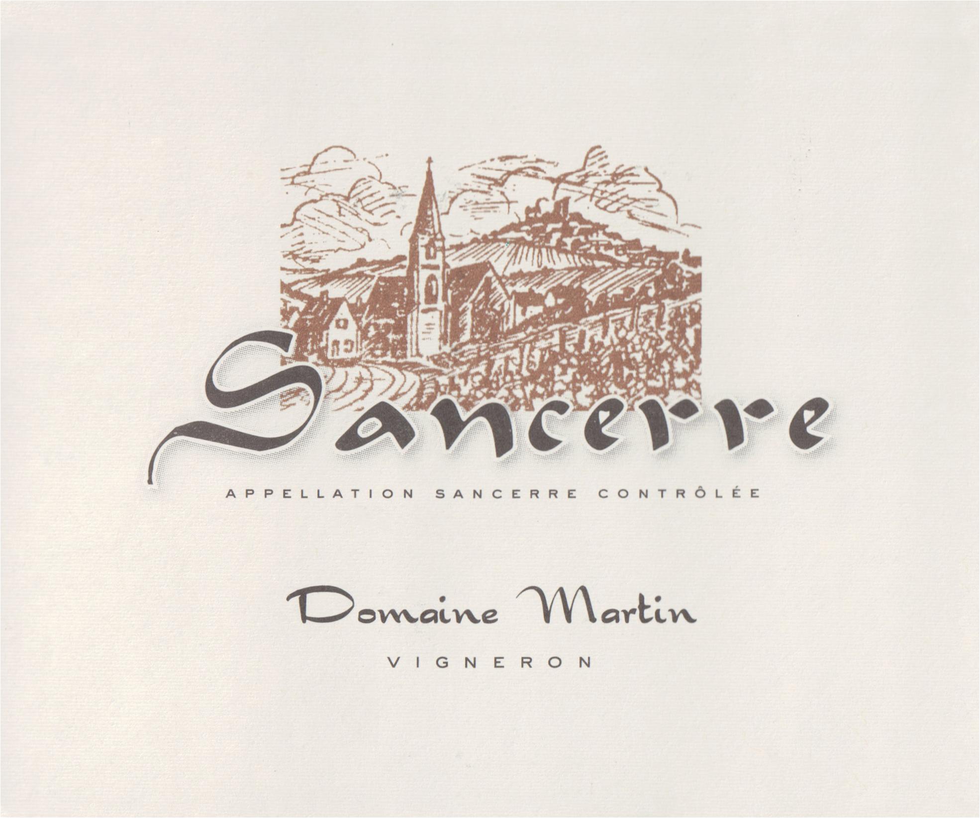 Domaine Martin Chavignol Sancerre 2019