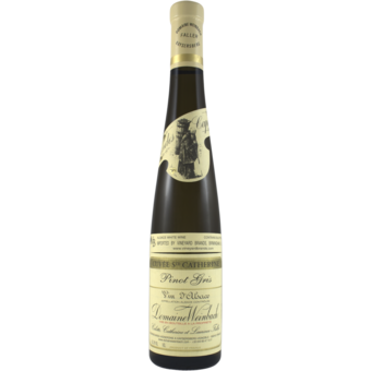 Bottle shot for 2017 Domaine Weinbach Pinot Gris Cuvee Ste Catherine