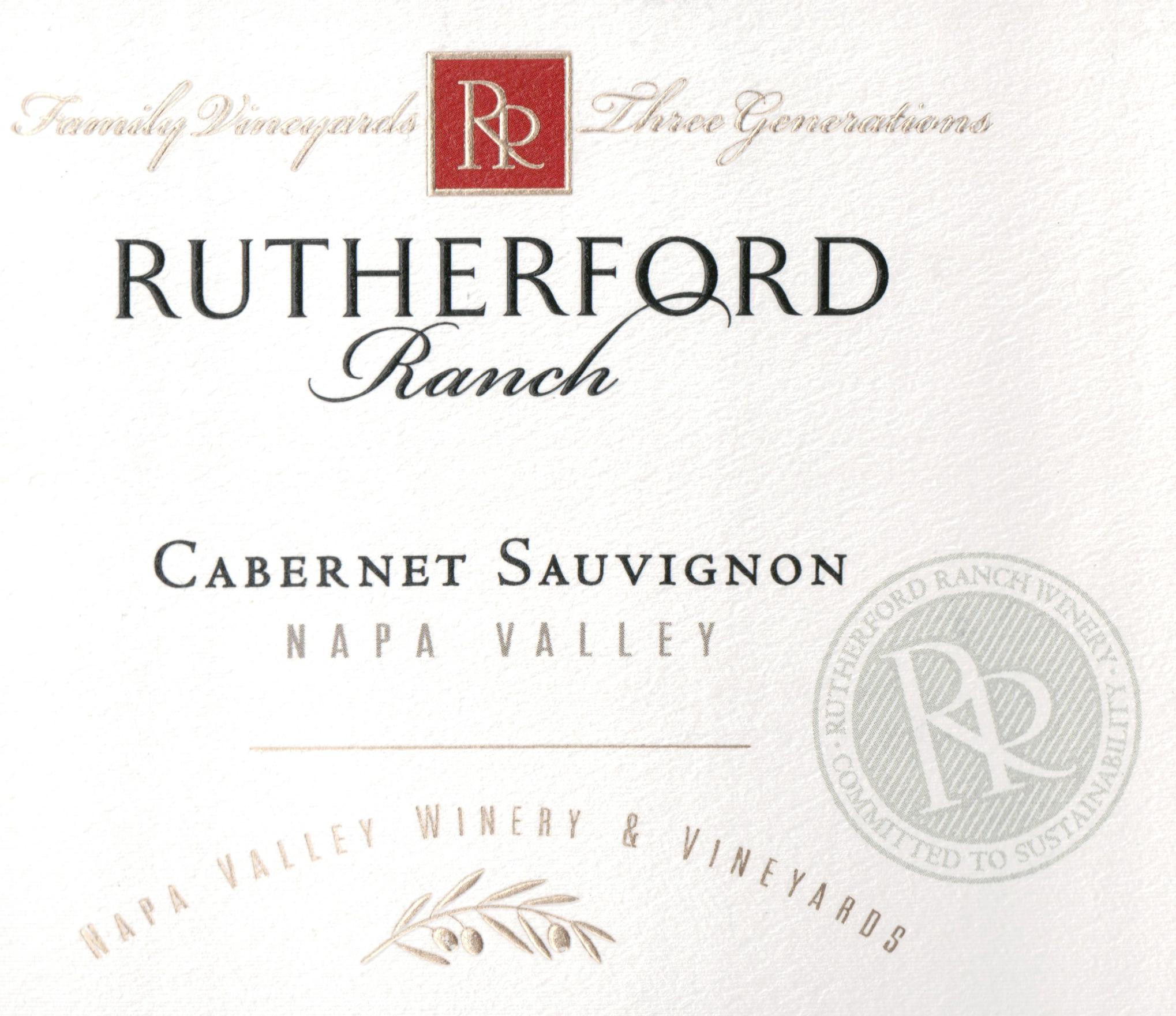 Rutherford Ranch Cabernet Sauvignon Half Bottle 2017