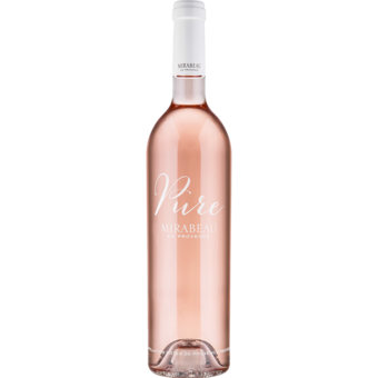 Bottle shot for 2019 Mirabeau Pure Rose Cotes De Provence