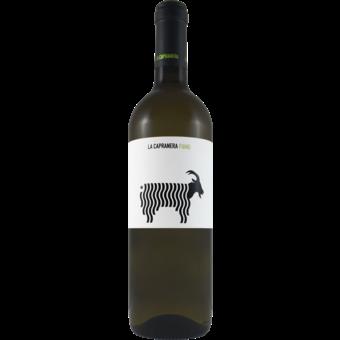 Bottle shot for 2019 La Capranera Fiano Campania