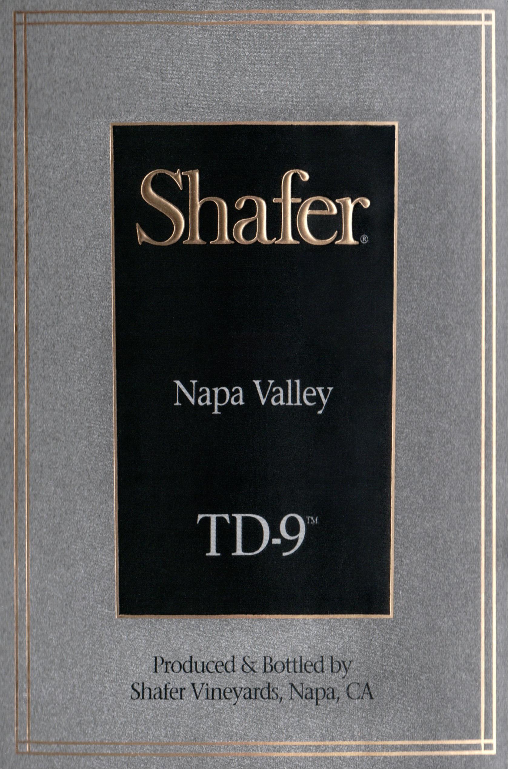 Shafer Td 9 Red 2017