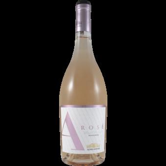 Bottle shot for 2019 Alpha Rose